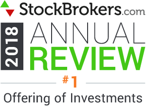 Interactive Brokers reviews: 2018 Stockbrokers.com Awards - rated #1 in 2018 for Offering of Investments