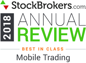 Interactive Brokers reviews: 2018 Stockbrokers.com Awards - rated Best in Class in 2018 for Mobile Trading