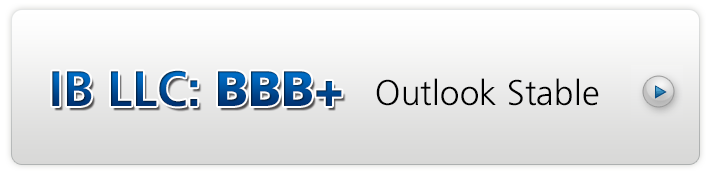 IB LLC Rating: BBB+ Outlook Stable